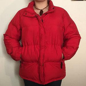 SALE Max Mara Weekend Down Puffer Jacket Red 12